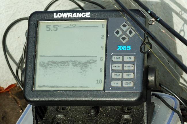 Echolot: Mit einer exakten Tiefeninformation kann man effektiv angeln und Hänger vermeiden.