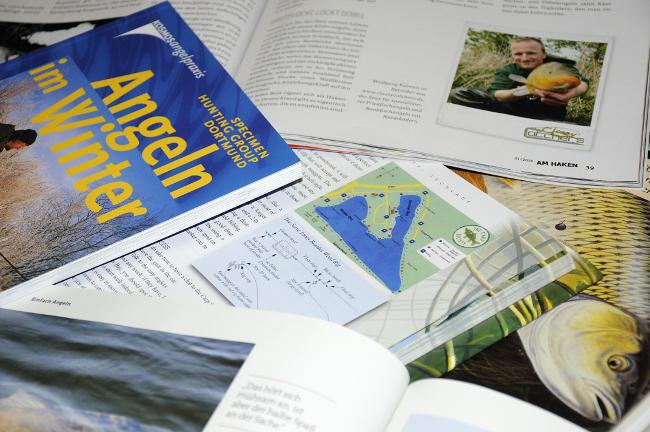 Über das Angeln ist schon viel geschrieben worden, ob in Büchern, Zeitschriften oder im Internet. Ein wahrer Schatz an Anglerwissen! (Fotos: W. Kalweit)