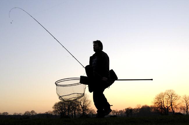 Nur wer mobil ist macht einen großen schritt zum Erfolg, vor allem an Fließgewässern.