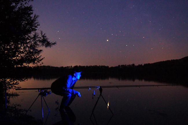 Neben der großen Chance auf gute Fische, hat die Nacht auch ihren besonderen Reiz.