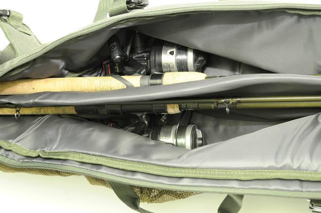 Die gepolsterte Rollentasche schützt vor Beschädigungen.