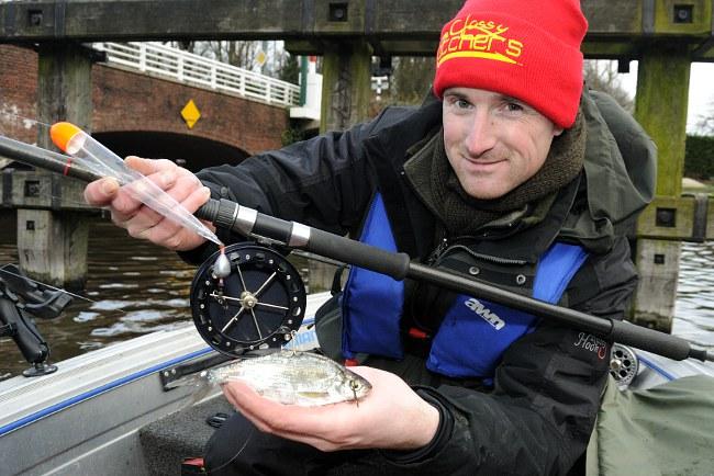 Die Centrepin eignet sich hervorragend zum Naturköderangeln auf Raubfische, insbesondere vom Boot. (Fotos: W. Kalweit, C. Chmielewski)